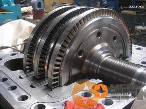 Монтаж противодавленческой турбины PARSONS-4300